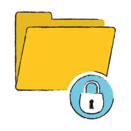 security or safety related icons image vector illustration design Illustration