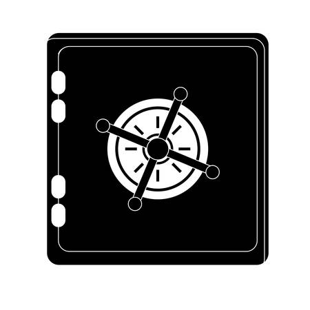 safe box security or safety related icons image vector illustration design Illustration