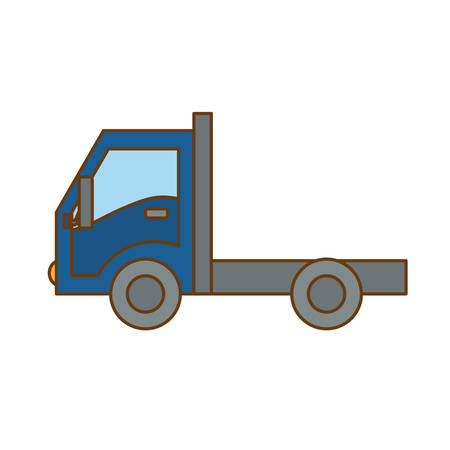 cargo or delivery truck icon image vector illustration design