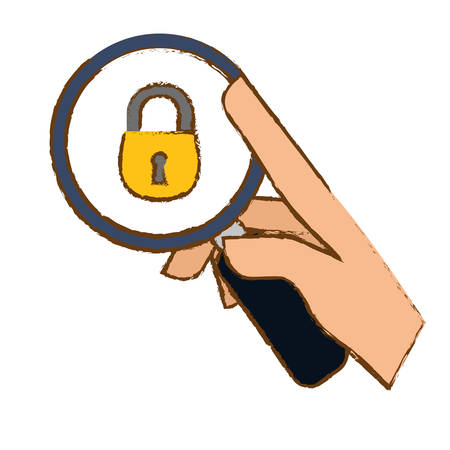security or privacy related icons image vector illustration design