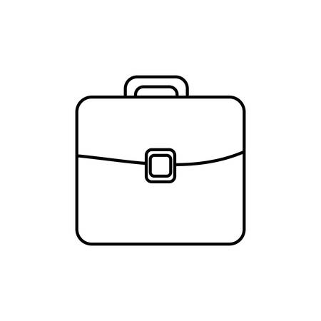valuables: Isolated business briefcase icon vector illustration graphic design