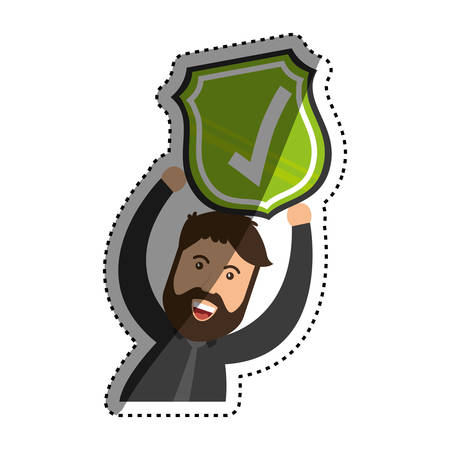 Approval check icon icon vector illustration graphic design
