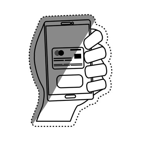 Credit card payment icon vector illustration graphic design