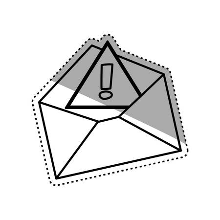 isolated email or Mail symbol icon vector illustration graphic design