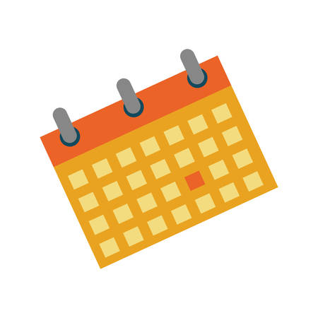 Calendar event date icon vector illustration graphic design