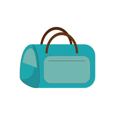 blue bag carrier pet comfort vector illustration eps 10