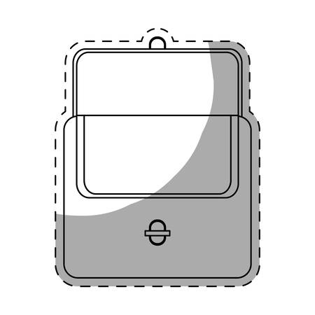 change purse: open wallet icon image vector illustration design