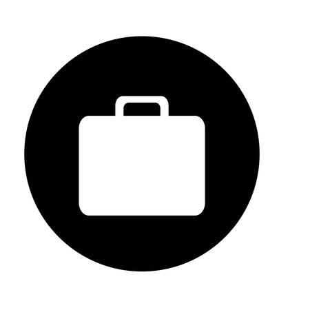 thumbnail: briefcase button thumbnail business icon image vector illustration design