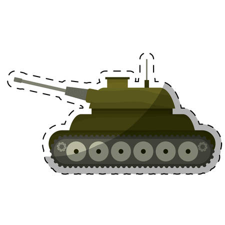 gi: tank army related  icons image vector illustration design