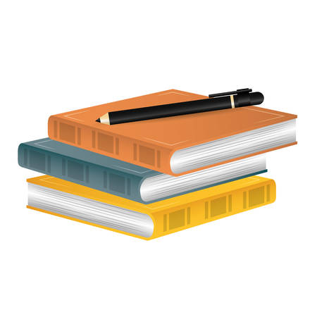 electronic publishing: book icon image full color vector illustration design