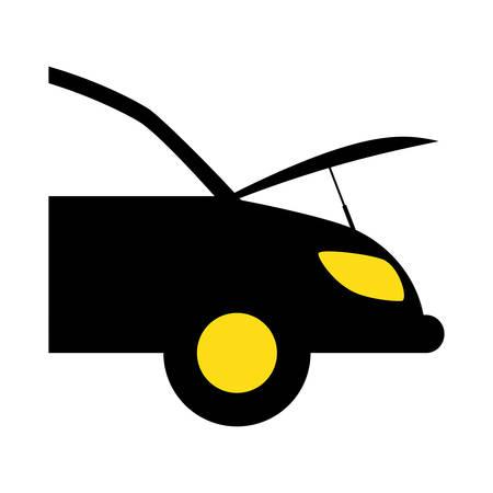 car workshop related icons image vector illustration design Illustration
