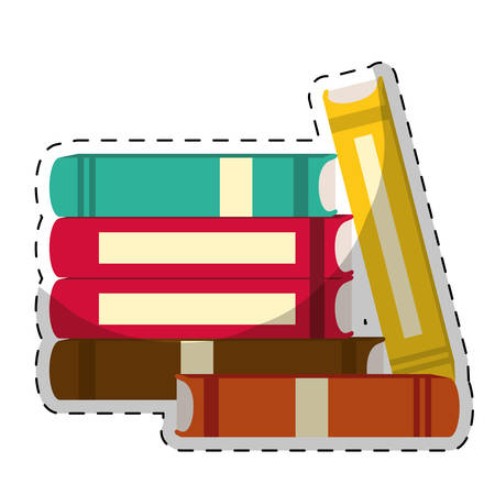 book icon image sticker  vector illustration design Illustration