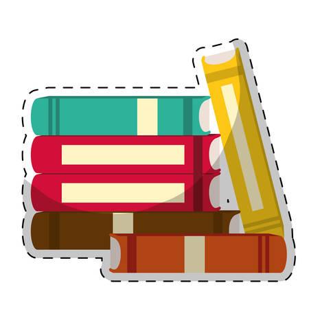 book icon image sticker  vector illustration design Illustration