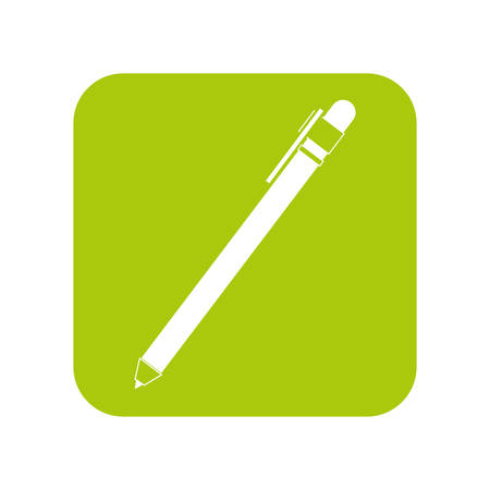 single pen icon image sketch vector illustration design Illustration