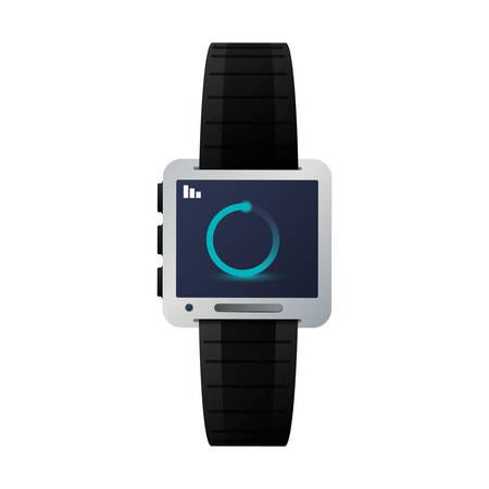 thumbnail: smartwatch button thumbnail icon imagevector illustration design