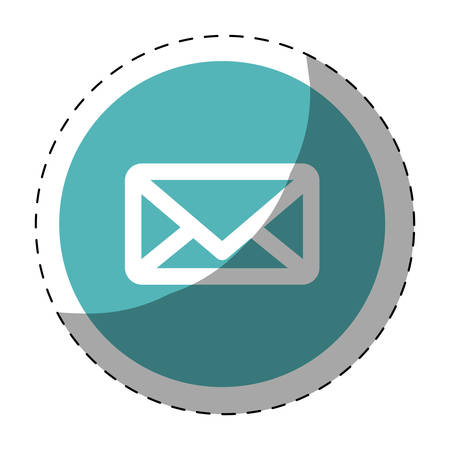 thumbnail: message or email button thumbnail  imagevector illustration design
