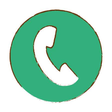 phone thumbnail icon image vector illustration design