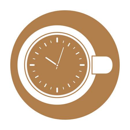 roaster: coffee related emblem button image vector illustration design Illustration
