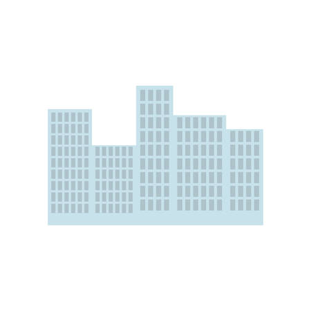 urbanization: Buildings real estate icon vector illustration graphic design