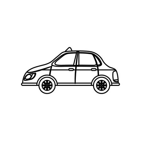 adverts: Taxi cab transport icon vector illustration graphic design