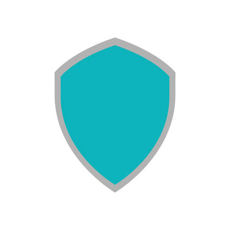 shiled: shiled protection system technology icon vector illustration eps 10