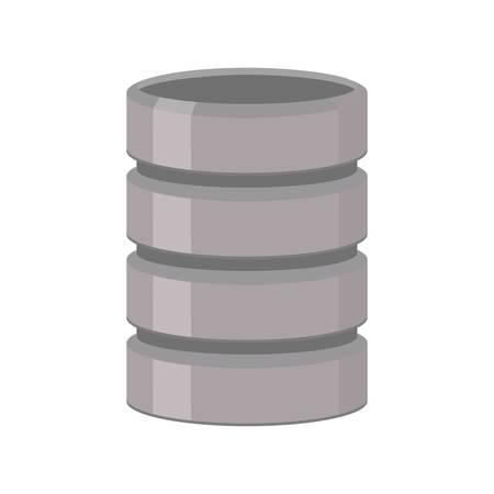 data server storage information computer vector illustration eps 10