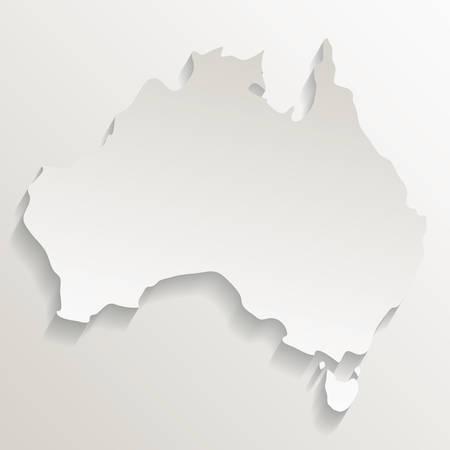 territory outline australia related image vector illustration design Vektorové ilustrace