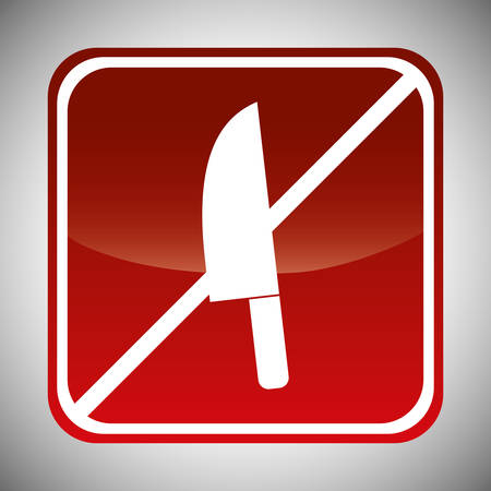 weapons forbidden icon image vector illustration design