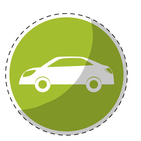 car eco friendly related icons image vector illustration design