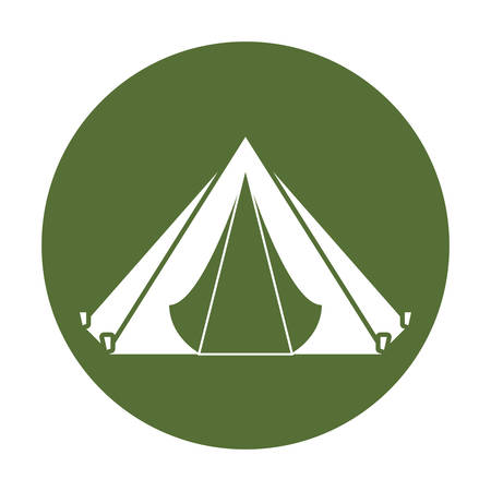 Camp badge where the military rest, icon image