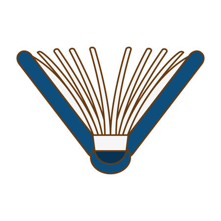 Blue notebook semi open image, vector illustration