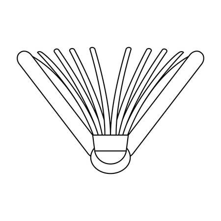 Figure notebook semi open image, vector illustration