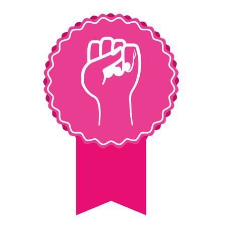 feminism representation icon image vector illustration design Illustration