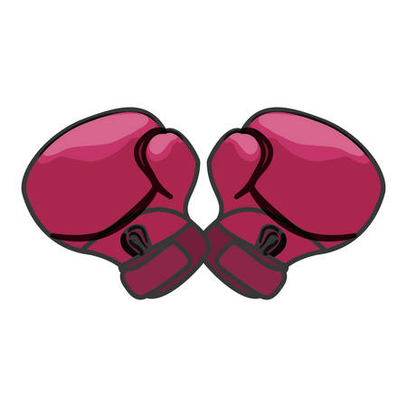 activist: boxing gloves feminism related icons image vector illustration design