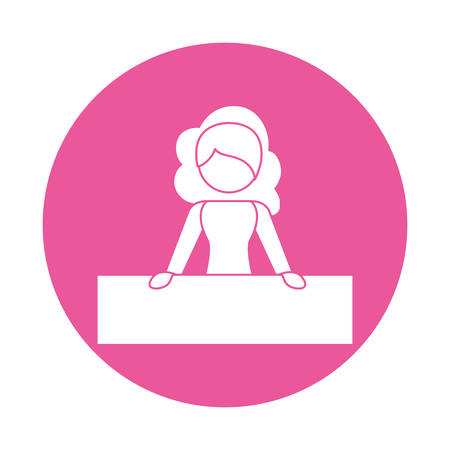 activist: feminism related icons image vector illustration design