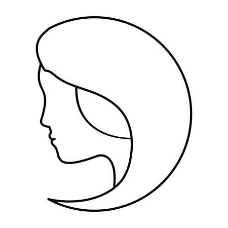 feminist: figure feminist defense image icon, vector illustration design