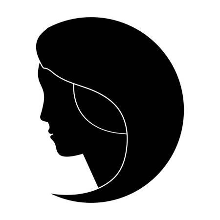 feminist: black feminist defense image icon, vector illustration design
