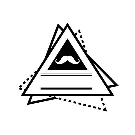 Hipster lifestyle symbol icon vector illustration graphic design