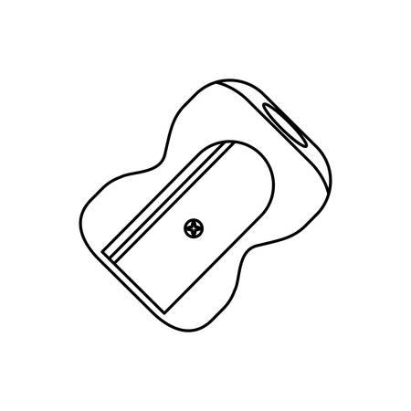 Sharpener school supplie icon vector illustration graphic design