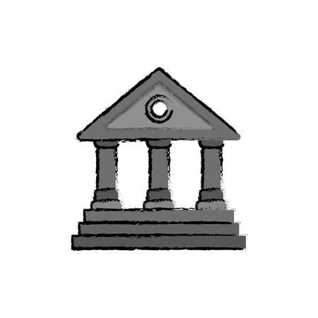 university building: University building symbol icon vector illustration graphic design