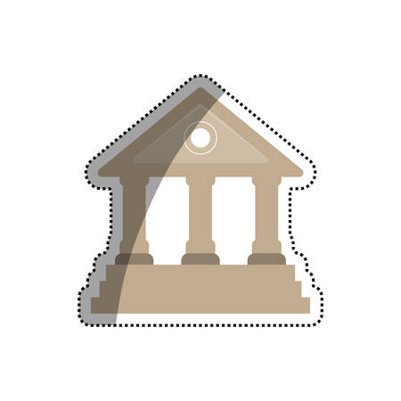 University building symbol icon vector illustration graphic design