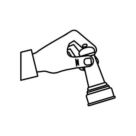 Chess game concept icon vector illustration graphic design