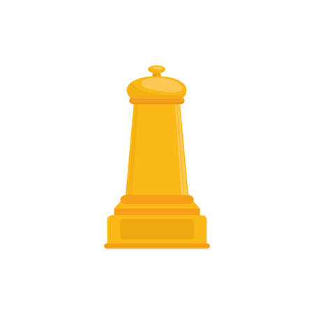 Chess game concept icon vector illustration graphic design
