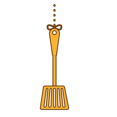 yellow turner icon image design, vector illustration Illustration