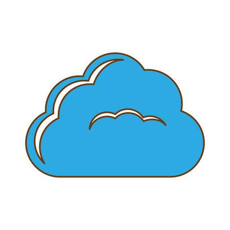 database optimization and tuning icon image, vector illustration Illustration