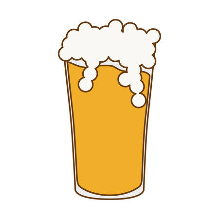 glass beer icon image design, vector illustration Illustration