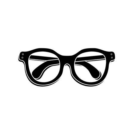 sight: Vintage fashion glasses icon illustration graphic design Illustration