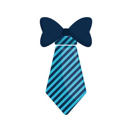 necktie bowtie elegant father day vector illustration eps 10 Illustration