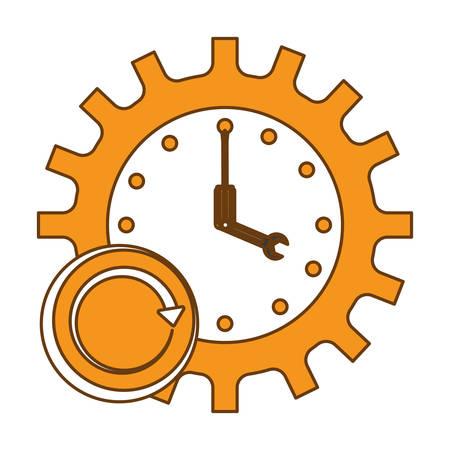 tools repair service emblem image vector illustration design