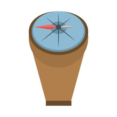 compass marine localization tool vector illustration eps 10 Illustration